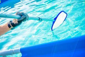 Pflege des Outdoor Whirlpools